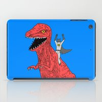 dinosaur iPad Cases featuring Dinosaur B Forever by Isaboa