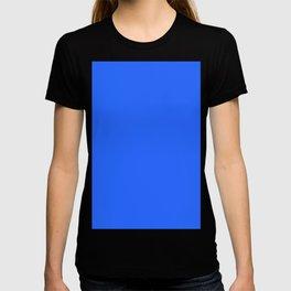 Ultra Marine Blue Solid Color Block T-shirt