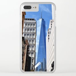 Freedom Tower Clear iPhone Case