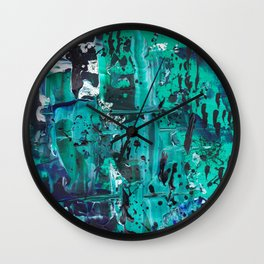 Pthalo Dance Wall Clock
