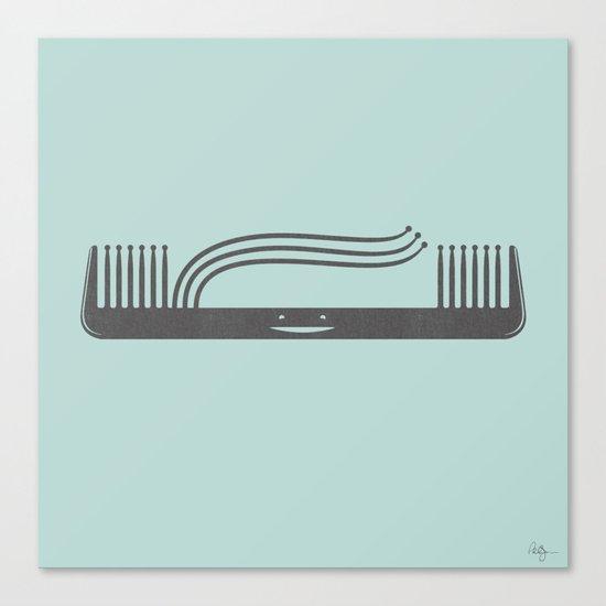 Comb Over Canvas Print