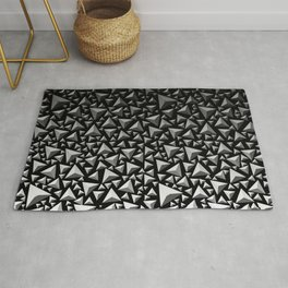Spiky Triangles 2 Rug