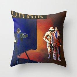 On air Throw Pillow