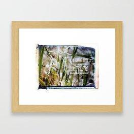 Invincible Summer. Framed Art Print