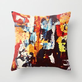 A Mosaic Throw Pillow