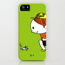 Grasshoppers and girls iPhone Case