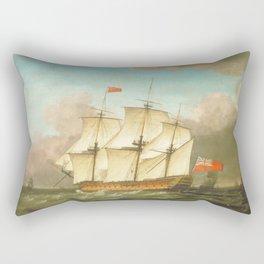 HMS Victory Rectangular Pillow