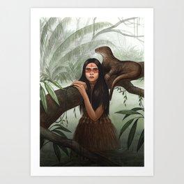 Rimaq ~ A Compendium of Witches Art Print