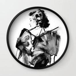 Real Lady Wall Clock