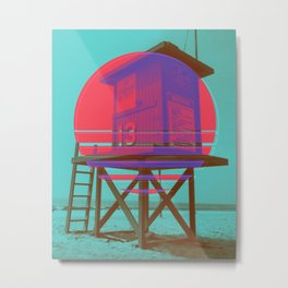 Off Duty DuoTone No.1 Metal Print