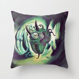 Pterois, Eye Tyrant Throw Pillow