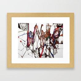 Miscalculations Framed Art Print