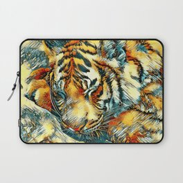 AnimalArt_Tiger_20170606_by_JAMColorsSpecial Laptop Sleeve