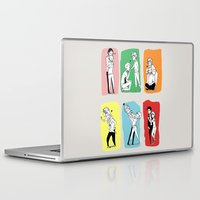 "louis Laptop & iPad Skins featuring "" Louis + men "" by Karu Kara"