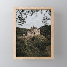 Historic Burg Eltz   Travel photography Germany - moody tones in Europe Art Print Framed Mini Art Print