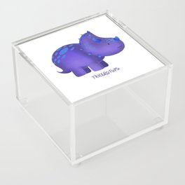 Tricerotops Acrylic Box