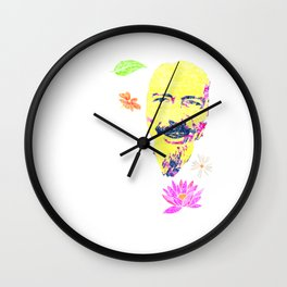 What the gods made for fun   Psychedelic Alan Wilson Watts Wall Clock