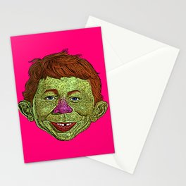 Alfred E. Newman MAD Stationery Cards