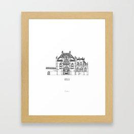 Batalha Framed Art Print