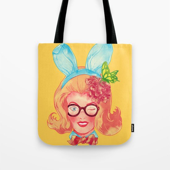 Lapin Belle Tote Bag