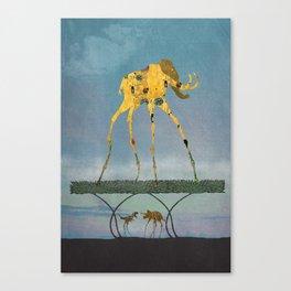 Dalimt Prehistoric Fantasy Canvas Print