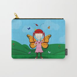 i heart butterflies Carry-All Pouch