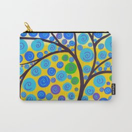 green tree of life Carry-All Pouch