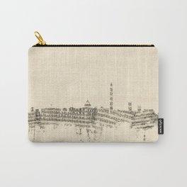 Washington DC Skyline Sheet Music Cityscape Carry-All Pouch