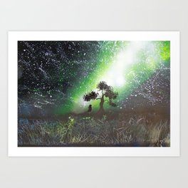 You're Never Alone With All These Stars Art Print