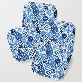 Arabesque tile art Coaster