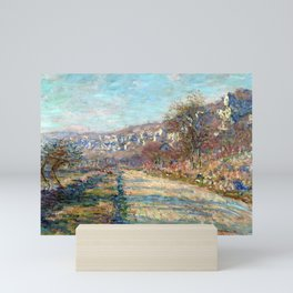 Claude Monet Road of La Roche-Guyon Mini Art Print