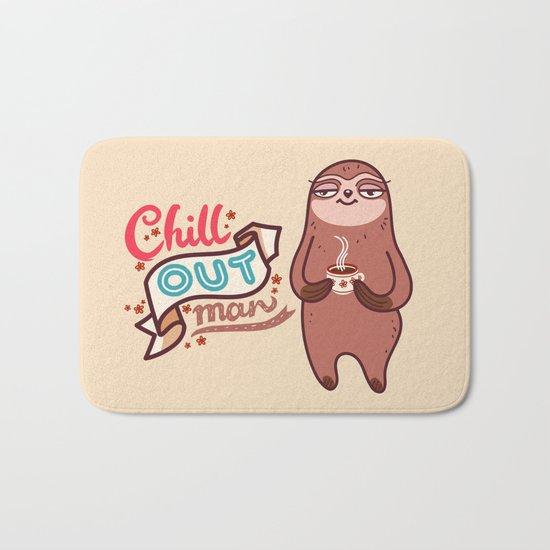 Chill Sloth Bath Mat