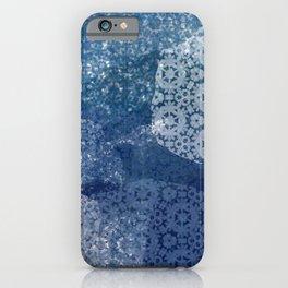 Shibori Lace Collage iPhone Case