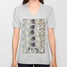 Colorful cake pops Unisex V-Neck