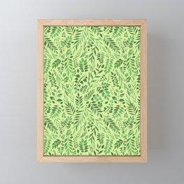Lemongrass (Essential Oil Collection) Framed Mini Art Print