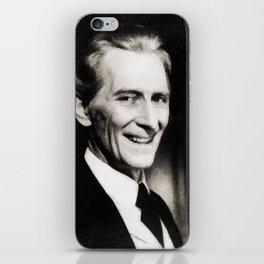 Peter Cushing, Vintage Actor iPhone Skin