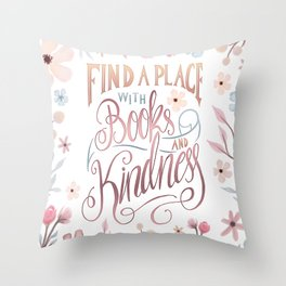 FIND A PLACE Throw Pillow
