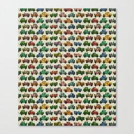 Cars and Trucks Canvas Print