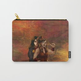 Fire Nation Korra and Asami Carry-All Pouch