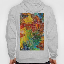 Upright Stained Twist Hoody
