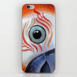 Orange Parrot iPhone Skin