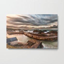Ballintoy Harbour, Ireland, Northern Ireland Metal Print