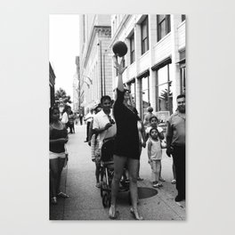Chicago Street Scenes 5: Street Ball Canvas Print