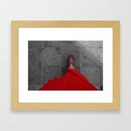 One Fine Morning Framed Art Print