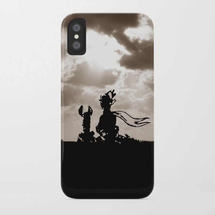 The little p  and the fox - dream version iPhone Case