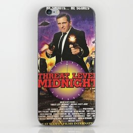 Geng Threat Level Midnight iPhone Skin