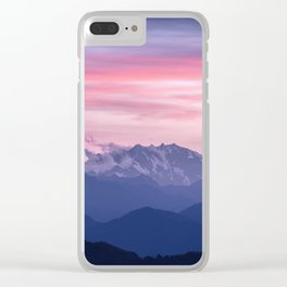 Monte Rosa Clear iPhone Case