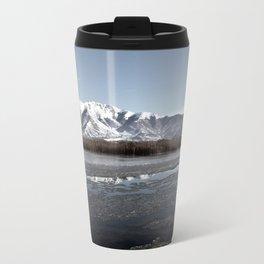 Frozen Lake Travel Mug
