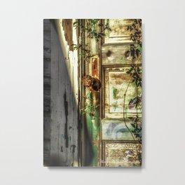 Rustic Door Metal Print