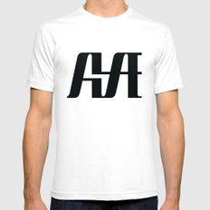 Hype SMALL White Mens Fitted Tee
